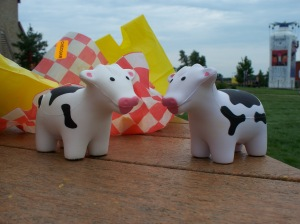 Cute, doomed little souvenir bovines