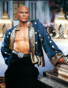 Yul Brynner, thank you Google Images