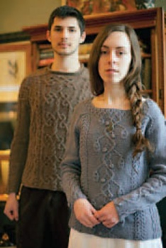 image copyright Jane Austen knits and links to Ravelry's project page